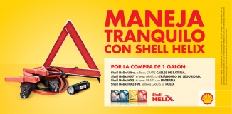 ¡Maneja Tranquilo con Shell Helix!  (No Vigente)