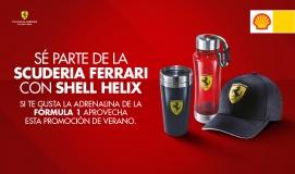¡SE PARTE DE LA SCUDERIA FERRARI CON SHELL HELIX!